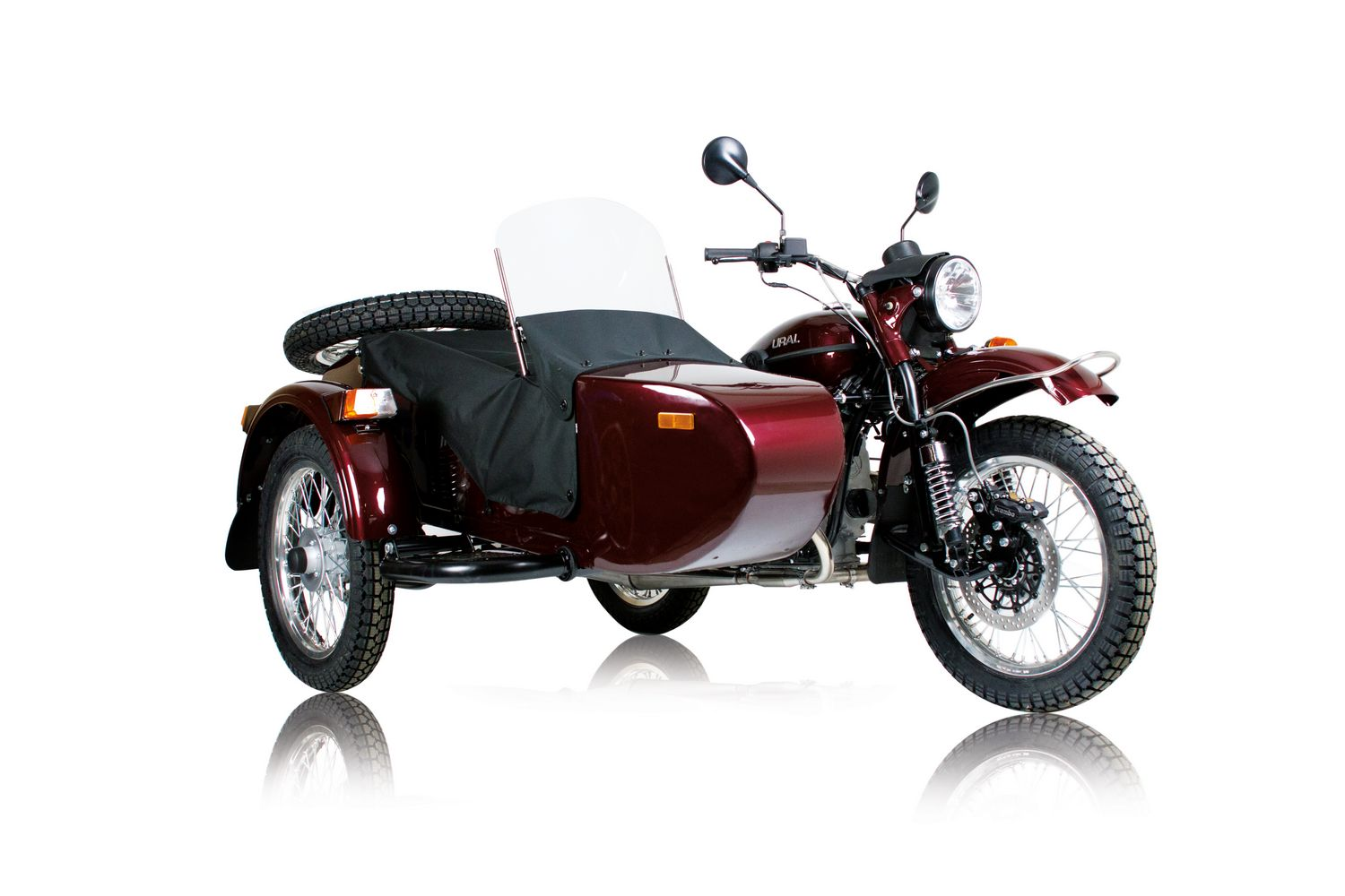 ural tourist sportsman metallic burgundy classic bike esprit ural. Black Bedroom Furniture Sets. Home Design Ideas