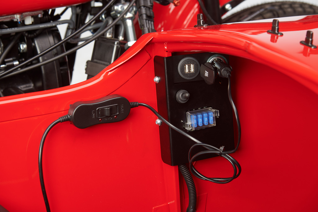 Ural Roter Oktober-II electric box